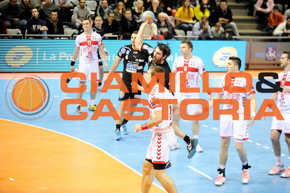 DESCRIZIONE : France Hand D1 Coupe de la Ligue Demi Finale a Toulouse<br /> GIOCATORE : MOKRANI Mohamed<br /> SQUADRA : Dunkerque<br /> EVENTO : Hand D1 Coupe de la Ligue <br /> GARA : Chambery Dunkerque<br /> DATA : 08/12/2012<br /> CATEGORIA : Hand D1 <br /> SPORT : Handball<br /> AUTORE : JF Molliere <br /> Galleria : France Hand 2012-2013 Action<br /> Fotonotizia : Hand D1 Coupe de la Ligue Demi Finale a Toulouse<br /> Predefinita :