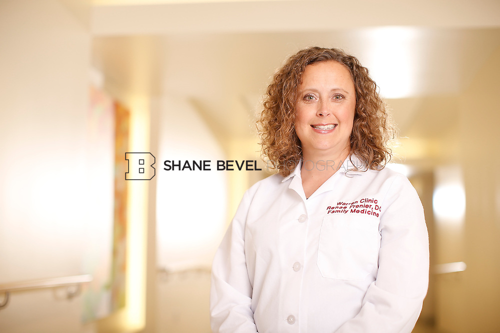 5/28/15 4:14:02 PM -- Dr. Renee Frenier of Saint Francis Health System poses for a portrait for the 2015 Advertising Campaign. <br /> <br /> Photo by Shane Bevel