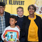 NLD/Muiden/20180325 - Boekpresentatie koken met Shane Kluivert, opa Kluivert Kenneth Ramon Kluivert,  Shane Kluivert, opa Rossana Lima en oma Kluivert Lidwina Frederica Kenton