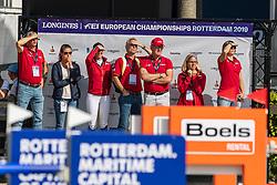 Ehning Marcus, GER, Comme Il Faut 5<br /> Rotterdam - Europameisterschaft Dressur, Springen und Para-Dressur 2019<br /> Longines FEI Jumping European Championship - 1st part - speed competition against the clock<br /> 1. Runde Zeitspringen<br /> 21. August 2019<br /> © www.sportfotos-lafrentz.de/Dirk Caremans