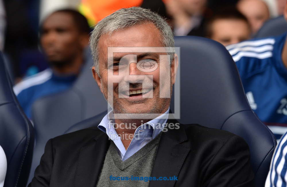 Picture by Andrew Timms/Focus Images Ltd +44 7917 236526<br /> 28/09/2013<br /> Manager of Chelsea Jose Mourinho during the Barclays Premier League match against Tottenham Hotspur at White Hart Lane, London.