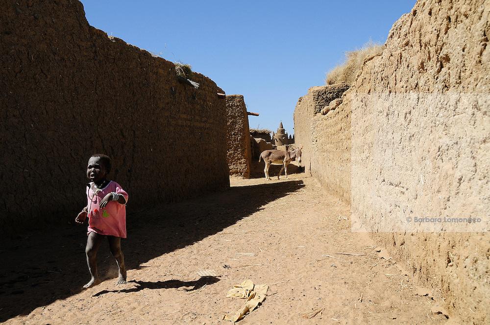 The Saharan village of Moussoukourare, Mali