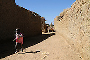 The Saharan village of Moussoukourare, Mali