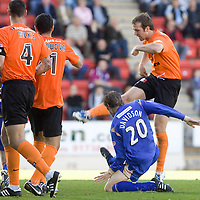 St Johnstone v Dundee United..26.09.09<br /> Andy Webster scores to make it 2-1 <br /> Picture by Graeme Hart.<br /> Copyright Perthshire Picture Agency<br /> Tel: 01738 623350  Mobile: 07990 594431