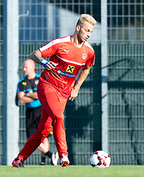 30.08.2016, Ernst Happel Stadion, Wien, AUT, FIFA WM Qualifikation, Georgien vs Oesterreich, Gruppe D, Training Oesterreich, im Bild Marko Arnautovic // during a training session of Team Austria (AUT) in front of the FIFA World Cup Qualifier Match between Georgia and Austria at the Ernst Happel Stadion, Vienna, Austria on 2016/08/30. EXPA Pictures © 2016, PhotoCredit: EXPA/ Sebastian Pucher