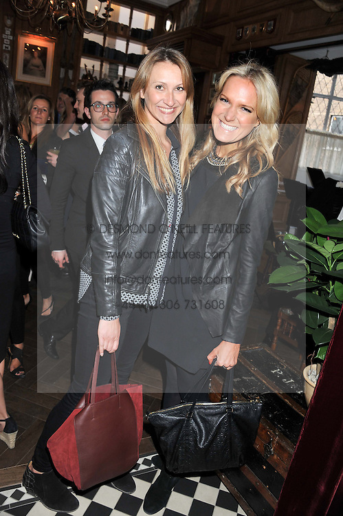 Left to right, Julie Bettridge and Chrissy Reeves at a party to celebrate the launch Mr Fogg's, 15 Bruton Lane, London W1 on 21st May 2013.