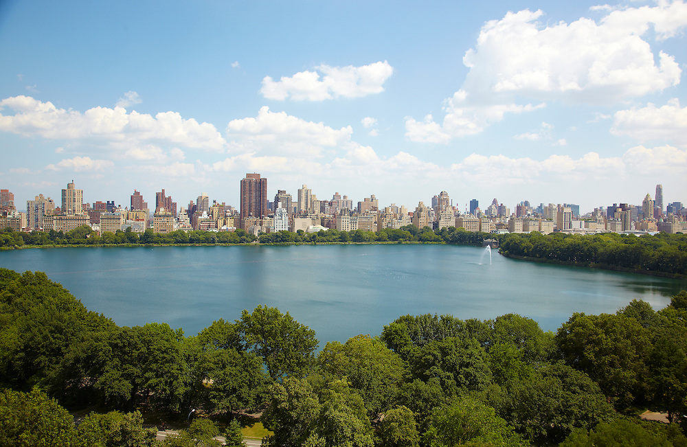 View of Central Park Reservoir from 320 Central Park West #19A