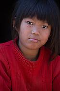 Young girl at Durbar Square, Kathmandu.