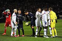 Zlatan IBRAHIMOVIC - 08.02.2015 - Lyon / Paris Saint Germain - 24eme journee de Ligue 1<br /> Photo : Jean Paul Thomas / Icon Sport