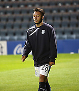 New boy Dylan Carreiro was on the bench for Dundee - Dundee v Raith Rovers, Scottish League Cup at Dens Park<br /> <br />  - &copy; David Young - www.davidyoungphoto.co.uk - email: davidyoungphoto@gmail.com