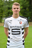 Paul Nardi of Rennes during the presentation of the Stade Rennais Team on September 12, 2016 in Rennes, France. (Photo by Andre Ferreira/Icon Sport)