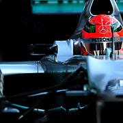 F1 Barcelona Pre-season Testing 2012