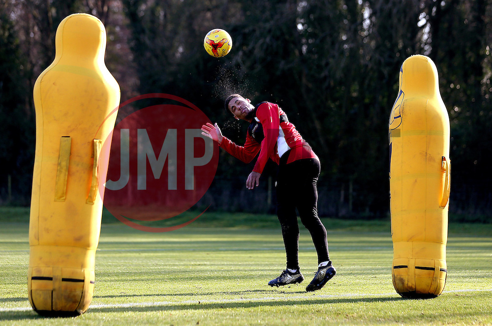Zak Vyner of Bristol City takes part in training - Mandatory by-line: Robbie Stephenson/JMP - 19/01/2017 - FOOTBALL - Bristol City Training Ground - Bristol, England - Bristol City Training