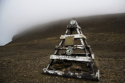 July 21, 2019 - Sir John Franklin Expedition Memorial Marker, Beechy Island, Nunavut, Canada (Credit Image: © Richard Wear/Design Pics via ZUMA Wire)