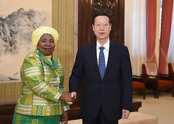 BEIJING, Nov. 2, 2015 (Xinhua) -- Chinese Vice Premier Zhang Gaoli (R) meets with African Union Commission Chairperson Nkosazana Dlamini-Zuma in Beijing, capital of China, Nov. 2, 2015. (Xinhua/Zhang Duo) (dhf) (Credit Image: © Zhang Duo/Xinhua via ZUMA Wire)