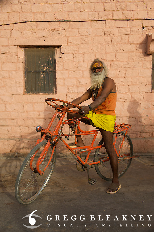 Bicycle shop owner/inventor - Rajasthan, India (ask for detailed location)