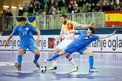 Pola of Spain during futsal semifinal match between National teams of Kazakhstan and Spain at Day 9 of UEFA Futsal EURO 2018, on February 8, 2018 in Arena Stozice, Ljubljana, Slovenia. Photo by Urban Urbanc / Sportida