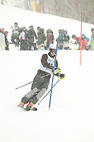Gilford High School alpine ski race at Gunstock January 8, 2010.