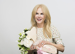 June 13, 2017 - Hollywood, California, U.S. - Nicole Kidman with flowers for her 50th Birthday. She stars in the movie ''The Beguiled' (Credit Image: © Armando Gallo via ZUMA Studio)