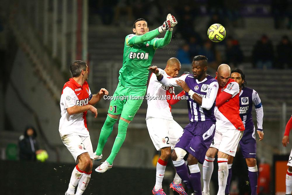Danijel Subasic - 05.12.2014 - Toulouse / Monaco - 17e journee Ligue 1<br />Photo : Manuel Blondeau / Icon Sport