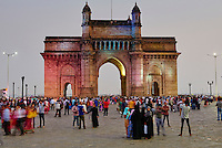Inde, Maharashtra, Mumbai (Bombay), Gateway of India // India, Maharashtra, Mumbai (Bombay), Gateway of India