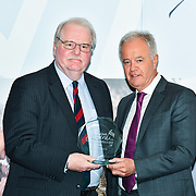 Martin Young Present  Winner of Military – Brigadier A P Walker of the 7th annual Churchill Awards honour achievements of the Over 65's at Claridge's Hotel on 10 March 2019, London, UK.