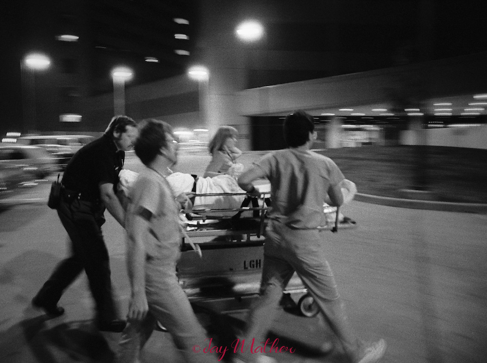 The Intensive Burn Care Unit at Louisville General Hospital.