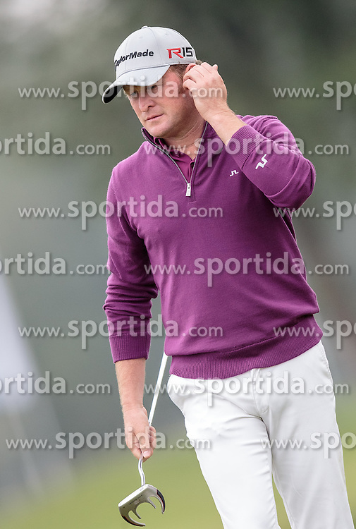 26.09.2015, Beckenbauer Golf Course, Bad Griesbach, GER, PGA European Tour, Porsche European Open, im Bild Jamie Donaldson (WAL) // during the European Tour, Porsche European Open Golf Tournament at the Beckenbauer Golf Course in Bad Griesbach, Germany on 2015/09/26. EXPA Pictures © 2015, PhotoCredit: EXPA/ JFK