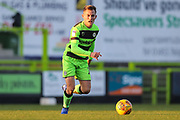 Forest Green Rovers George Williams(11) during the EFL Sky Bet League 2 match between Forest Green Rovers and Morecambe at the New Lawn, Forest Green, United Kingdom on 17 November 2018.