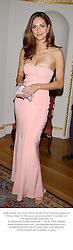 MISS TASHA DE VASCONCELOS MOTA E CUNHA a friend of Prince Albert of Monaco, at a reception in London on 17th September 2002.PDH 131
