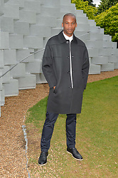 ERIC UNDERWOOD at a party hosted by fashion store COS to celebrate The Serpentine Park Nights 2016 held at The Serpentine Gallery, Kensington Gardens, London on 12th July 2016.