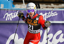 21.02.2015, Pohorje, Maribor, SLO, FIS Weltcup Ski Alpin, Maribor, Riesenslalom, Damen, 2. Lauf, im Bild Irene Curtoni (ITA) // Irene Curtoni of Italy after the 2nd run of ladie's Giant Slalom of the Maribor FIS Ski Alpine World Cup at the Pohorje in Maribor, Slovenia on 2015/02/21. EXPA Pictures © 2015, PhotoCredit: EXPA/ Erwin Scheriau