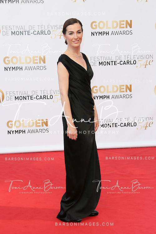 MONTE-CARLO, MONACO - JUNE 11:  Ayelet Zurer attends the Closing Ceremony and Golden Nymph Awards of the 54th Monte Carlo TV Festival on June 11, 2014 in Monte-Carlo, Monaco.  (Photo by Tony Barson/FilmMagic)