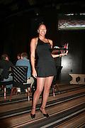 USA, Nevada, Las Vegas, cocktail lounge waitress