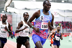 Rutto, Army, 3000m<br /> BU Terrier Indoor track meet