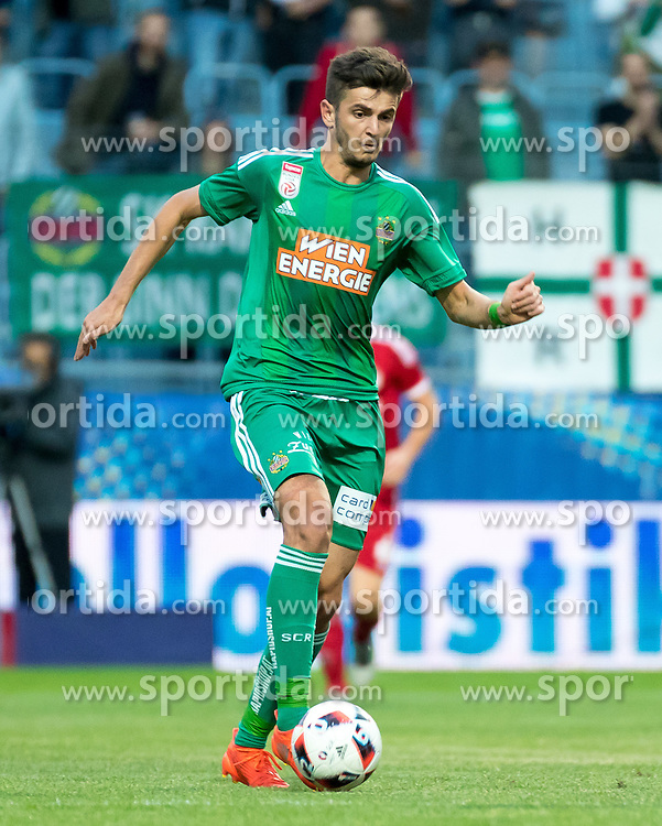 21.09.2016, Sportclub Platz, Wien, AUT, OeFB Samsung Cup, Leobendorf SV vs SK Rapid Wien, 2. Runde, im Bild Giorgi Kvilitaia (SK Rapid Wien)// during the OeFB Samsung Cup 2nd round Match between Leobendorf SV and SK Rapid Wien at the Sportclub Platz, Vienna, Austria on 2016/09/21, EXPA Pictures © 2016, PhotoCredit: EXPA/ Sebastian Pucher