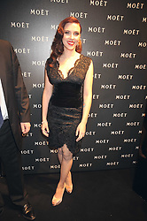 Scarlett Johansson at the Moet & Chandon Tribute to Cinema party held at the Big Sky Studios, Brewery Road, London N7 on 24th March 2009.