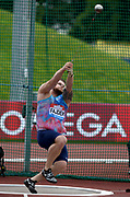 Pawel Fajdek (POL) wins the women's hammer with a throw of 257-7 (78.51m) during the Grand Prix Birmingham in an IAAF Diamond League meet at Alexander Stadium in Birmingham, United Kingdom on Sunday, August 20, 2017. (Jiro Mochizuki/Image of Sport)