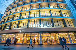Pull & Bear  store on famous Kurfurstendamm shopping street in Berlin, Germany.
