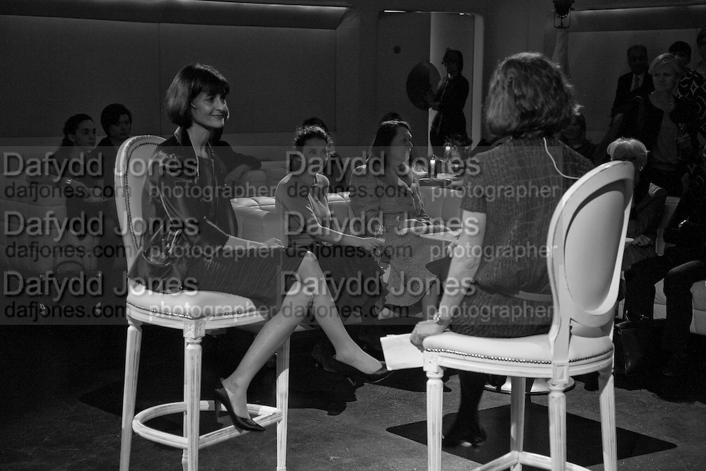 Harriet Quick conducts Q&A with Anna Sofat, Addidi FounderAddidi breakfast, Sketch. London. 11 March 2008 *** Local Caption *** -DO NOT ARCHIVE-© Copyright Photograph by Dafydd Jones. 248 Clapham Rd. London SW9 0PZ. Tel 0207 820 0771. www.dafjones.com.