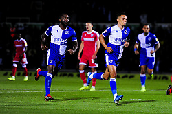 Tyler Smith of Bristol Rovers celebrates scoring his sides first goal of the game - Mandatory by-line: Ryan Hiscott/JMP - 17/09/2019 - FOOTBALL - Memorial Stadium - Bristol, England - Bristol Rovers v Gillingham - Sky Bet League One