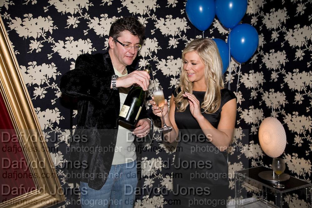 SUZANNE SHAW AND JOE PASQUALE, Bingo Lotto launch party. Soho Hotel Richmond Mews. London. 29 February 2008.  *** Local Caption *** -DO NOT ARCHIVE-© Copyright Photograph by Dafydd Jones. 248 Clapham Rd. London SW9 0PZ. Tel 0207 820 0771. www.dafjones.com.
