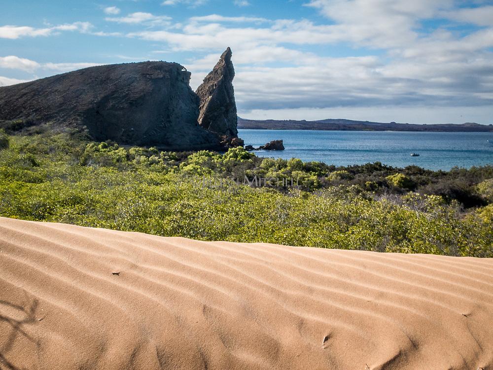 Pinnacle Rock, Isla Bartolome. Galapagos Islands