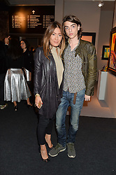 MIMI NISHIKAWA and SASCHA BAILEY at the PAD London 10th Anniversary Collector's Preview, Berkeley Square, London on 3rd October 2016.