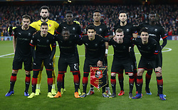 March 14, 2019 - London, England, United Kingdom - Rennes Team shoot.during Europa League Round of 16 2nd Leg  between Arsenal and Rennes at Emirates stadium , London, England on 14 Mar 2019. (Credit Image: © Action Foto Sport/NurPhoto via ZUMA Press)