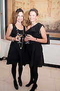 SANDRINE JENSEN; BENEDICTE DE PUYFONTAINE, Harper's Bazaar Women Of the Year Awards 2011. Claridges. Brook St. London. 8 November 2011. <br /> <br />  , -DO NOT ARCHIVE-© Copyright Photograph by Dafydd Jones. 248 Clapham Rd. London SW9 0PZ. Tel 0207 820 0771. www.dafjones.com.
