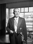 1959 - General Sean Mac Eoin T.D., Presidential Candidate in 1959 Election.