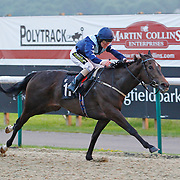Clearing and Joe Fanning winning the 8.55 race
