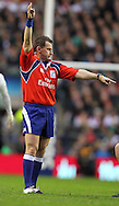 Picture by Paul Terry/Focus Images Ltd. 07545642257.17/03/12.Referee, Nigel Owens during the RBS Six nations match at Twickenham stadium, London.