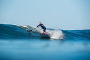 John Afshari SUP surfing in So Cal.